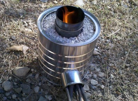 How to make a camping stove