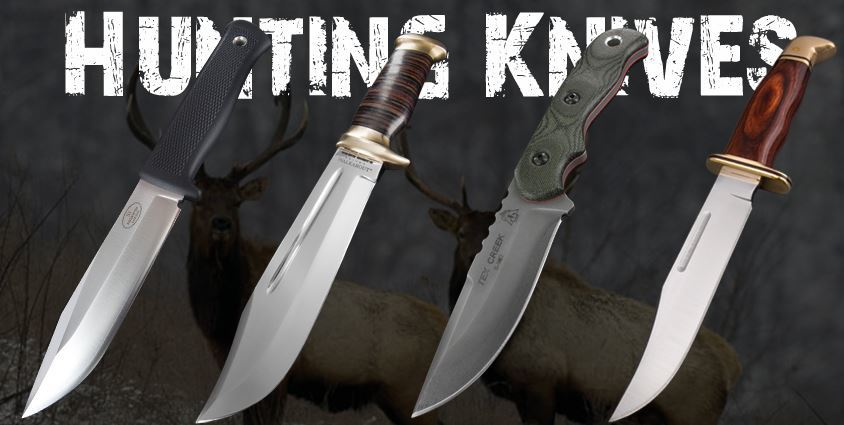 Types Of Hunting Knives Chooserly