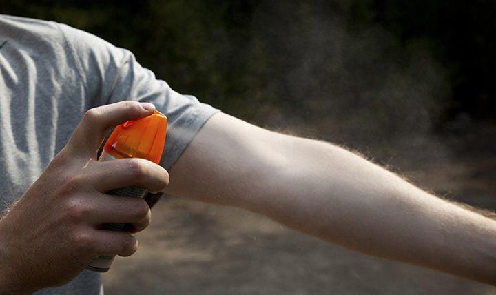 Mosquito sprays and creams