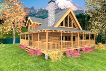 Mountain Crest Log Home - Custom Timber Homes