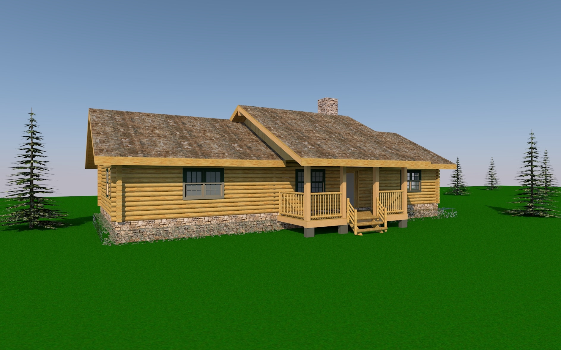Log Home Plans from 1500 to 2000 sq ft  Custom Timber