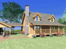 Log Home Plans 2000 Sq FT