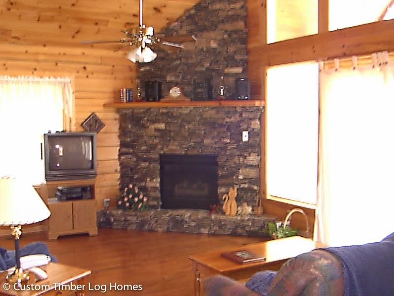 Cove Mountain Log Home Gallery  Custom Timber Log Homes