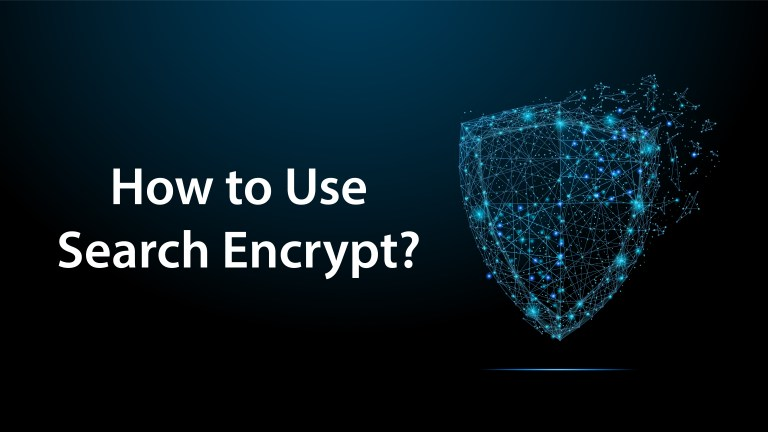 how to use search encrypt