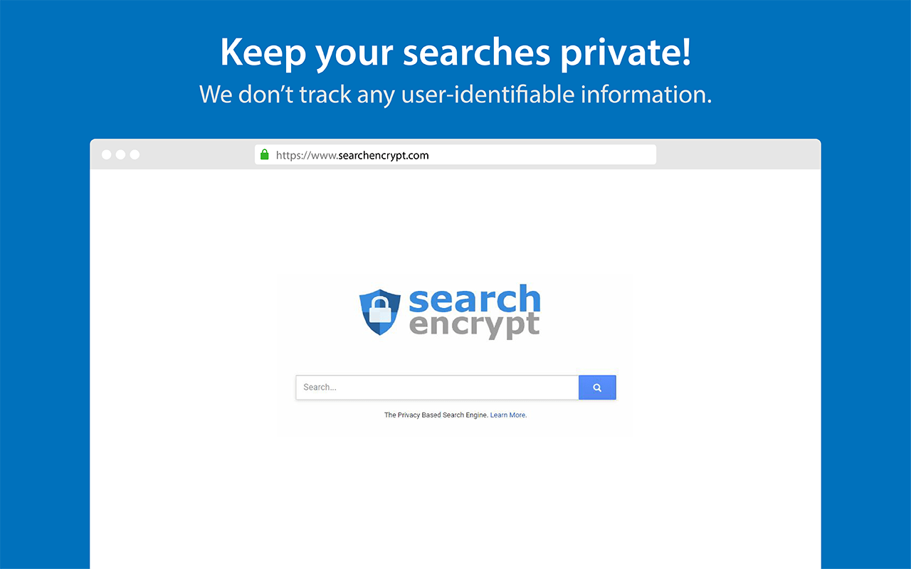 Search Encrypt screenshot
