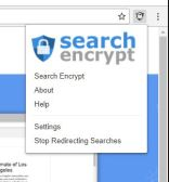 search encrypt menu