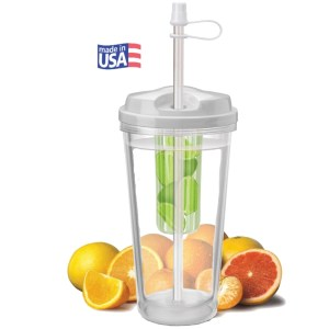 16oz - Infuser 'Take-Out' Tumbler with Citrus