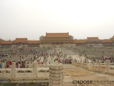 Zakazane Miasto w Pekinie w pełnej krasie
