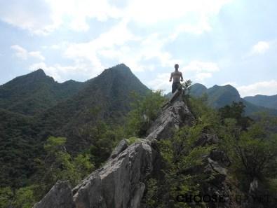 Stan na szczycie w okolicach wsi Chuandixia