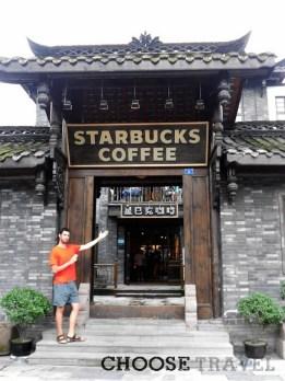 Najbardziej odjechany Starbucks. Tylko w Chengdu!