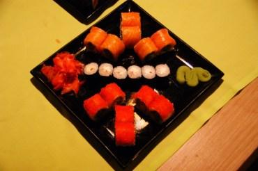 Ale i tak najlepsze sushi można zjeść w cafe Korova.