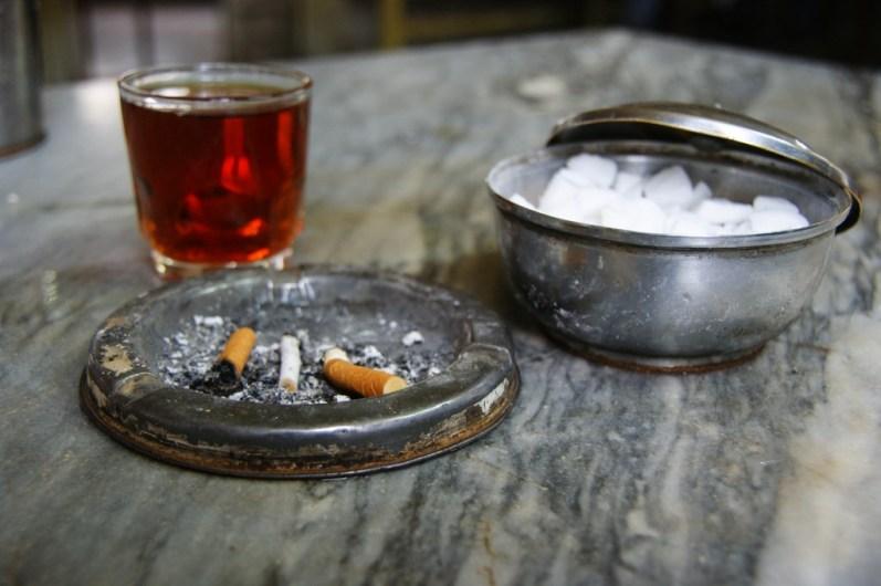 Herbata i fajka wodna w Iranie