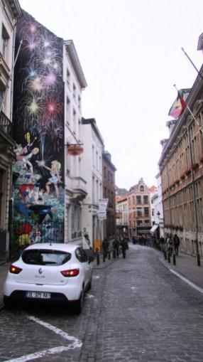 Szlak komiksowy w Brukseli