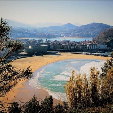 kraj baskow widok na san sebastian