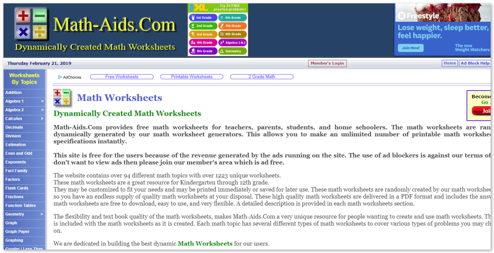 medium resolution of Math Resources for Teachers   Twine