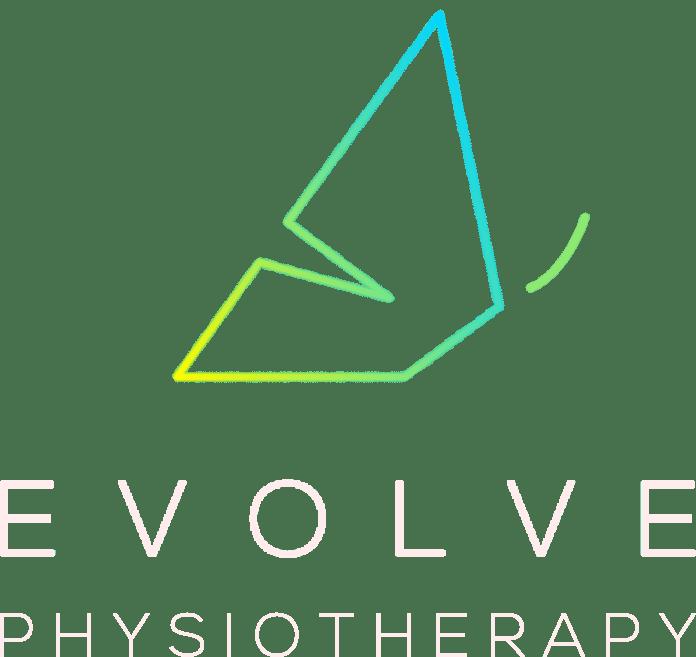 evolve Physio flying colour logo