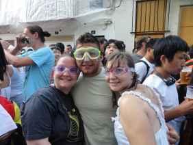 Me, Jaime, and Ali at La Tomatina.