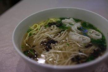 Won ton soup in Singapore