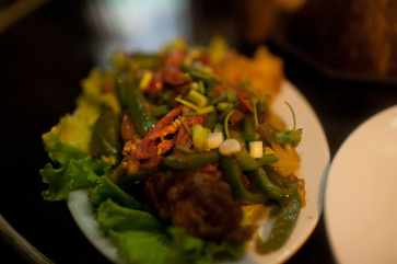 Sweet and spicy fish in Battambang, Cambodia.