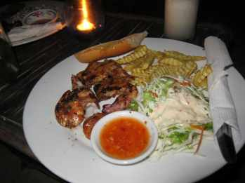 I guess I don't really consider the beach BBQs in Sihanoukville to be Asian. Essential. But not essentially Asian.