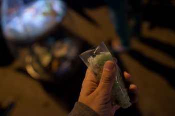 Street food in Dalat, Vietnam.