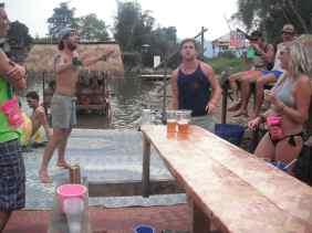 My Birthday party in Vang Vieng, Laos.