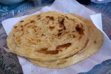 Paneer butter masala in Kochi, India.