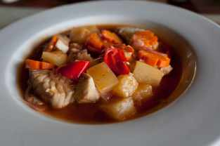 Sweet and sour fish in Malapascua, Philippines.