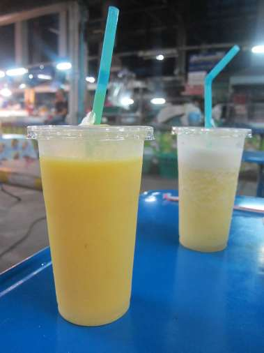 Smoothie in Chiang Mai, Thailand.