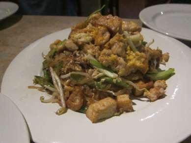 Thai food in Chiang Mai, Thailand.
