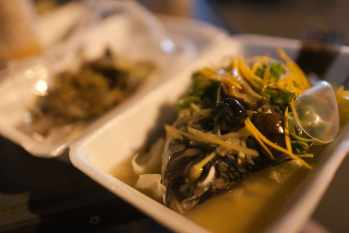Whole fish in Chiang Mai, Thailand.