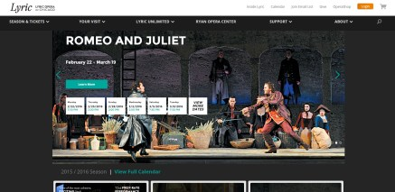 As Digital Marketing Coordinator for Lyric Opera of Chicago I keep the website updated using Sitecore CMS, optimize the website for SEO, and manage content marketing.