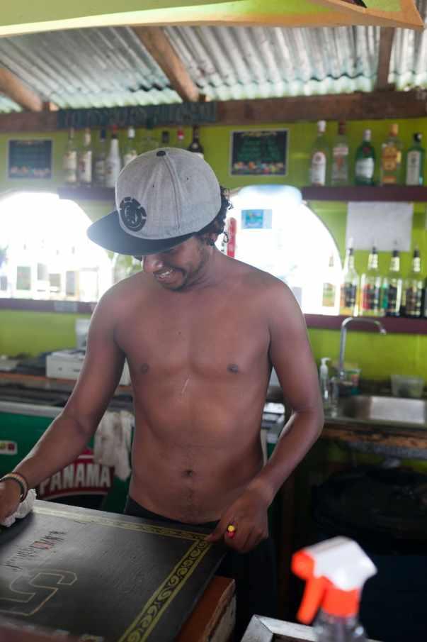 Aqua Lounge in Bocas del Toro, Panama.