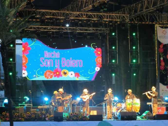 Feria de las Flores concerts in Medellin, Colombia.