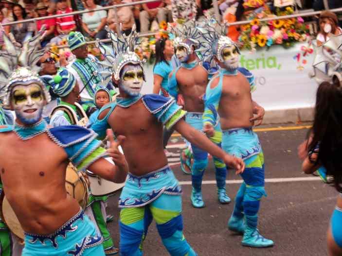 Feria de las Flores Desfile de Silleteros in Medellin, Colombia