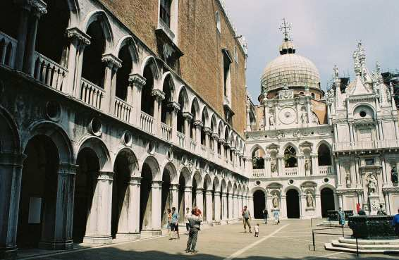 The Doge's Palace in Venice, Italy