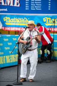 Nathan's Famous July 4 Hot Dog Eating Contest 2015