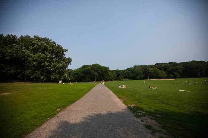 Prospect Park in Brooklyn, New York