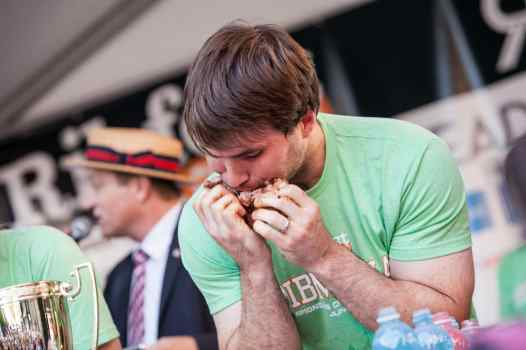 Adrian Morgan | Ribmania Ribs Eating Contest at Ribfest Chicago