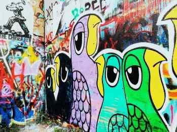 HOPE Outdoor Gallery in Austin, Texas.