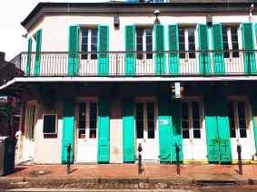 Buildings in New Orleans.