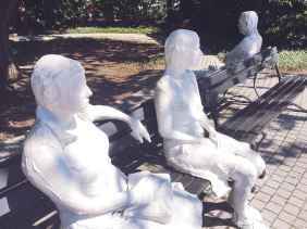 City Park Sculpture Garden in New Orleans.