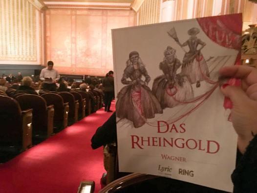 Das Rheingold at Lyric Opera of Chicago