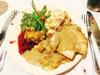 Thanksgiving buffet - plate 2.