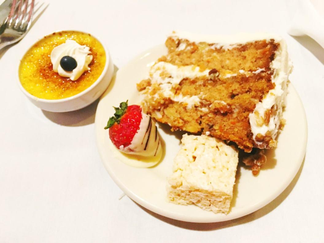 Thanksgiving buffet - plate 4.