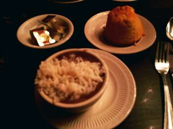 Heaven on Seven - Gumbo and Cornbread