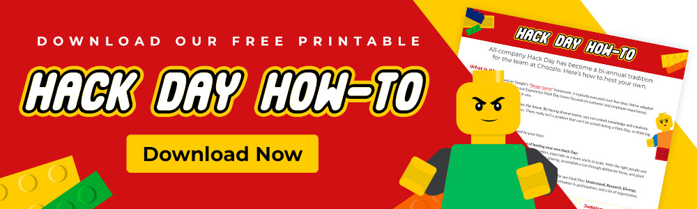 Download our Hack Day How-to printable