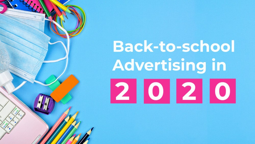 Back to school advertising