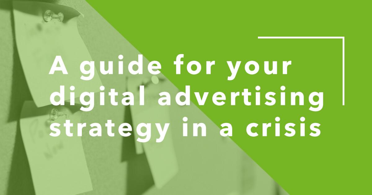 Crisis Digital Marketing Strategy
