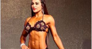 Indian Female Bodybuilder